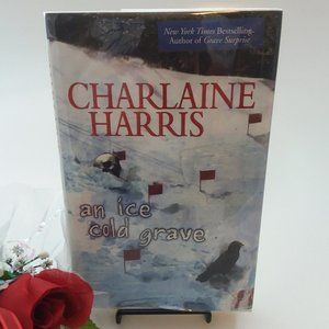 Signed Book: An Ice Cold Grave by Charlaine Harris